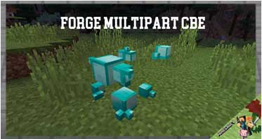 Forge MultiPart CBE Mod 1.12.2/1.11.2/1.10.2 For Minecraft