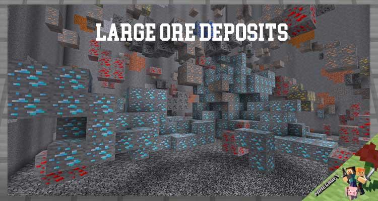 Large Ore Deposits Mod 1.16.4/1.15.2/1.12.2