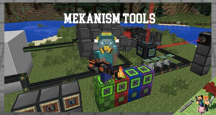 Mekanism Tools Mod 1.16.4/1.12.2/1.7.10