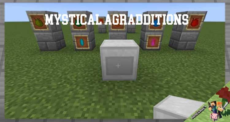 Mystical Agradditions Mod 1.16.4/1.12.2/1.10.2