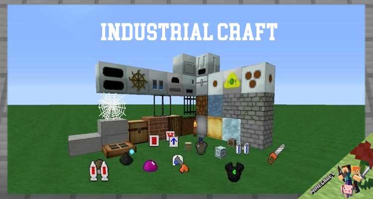 Industrial Craft Mod 1.12.2/1.11.2/1.10.2
