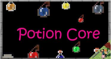 Potion Core Mod 1.12.2/1.10.2/1.7.10 For Minecraft