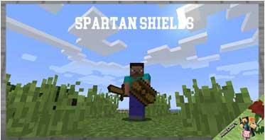 Spartan Shields Mod 1.16.5/1.12.2/1.10.2 For Minecraft