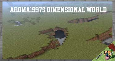 Aroma1997s Dimensional World Mod 1.12.2/1.10.2/1.7.10 For Minecraft