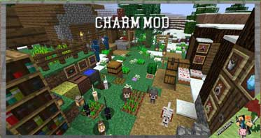 Charm Fabric Mod 1.16.5/1.12.2/1.7.10 For Minecraft