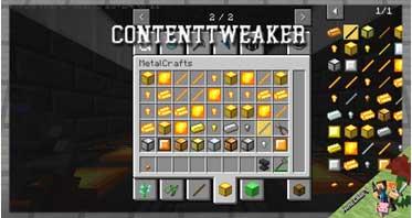 ContentTweaker Mod 1.16.4/1.12.1/1.7.10 For Minecraft