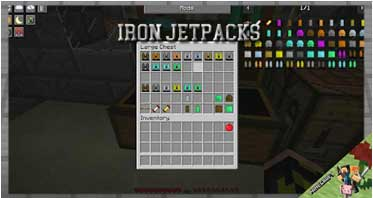Iron Jetpacks Mod 1.16.5/1.15.2/1.12.2 For Minecraft