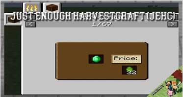 Just Enough HarvestCraft (JEHC) Mod 1.12.2/1.11.2/1.10.2 For Minecraft