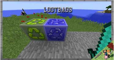 LootBags Mod 1.12.2/1.10.2/1.7.10 For Minecraft