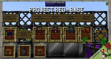 Project Red – Base Mod 1.12.2/1.10.2/1.7.10 For Minecraft