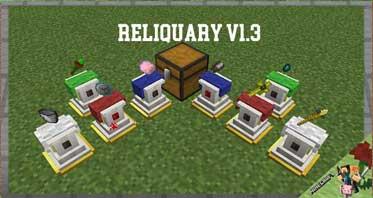 Reliquary v1.3 Mod 1.16.5/1.12.2/1.7.10 For Minecraft