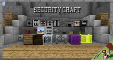 Security Craft Mod 1.16.5/1.12.2/1.7.10 For Minecraft