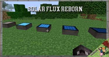 Solar Flux Reborn Mod 1.16.5/1.12.2/1.10.2 For Minecraft