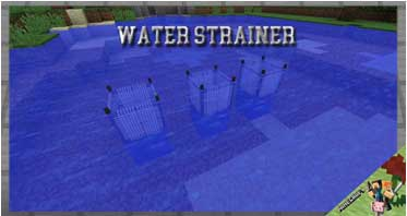 Water Strainer Mod 1.16.5/1.12.2/1.10.2 For Minecraft