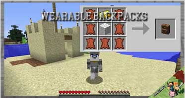 Copygirl's Wearable Backpacks Mod 1.12.2/1.11.2/1.10.2 For Minecraft