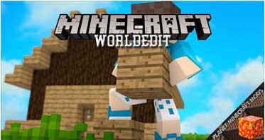 WorldEdit Mod 1.16.5/1.12.2/1.7.10 For Minecraft