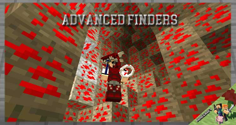 Advanced Finders Mod 1.16.5/1.12.2/1.7.10 For Minecraft