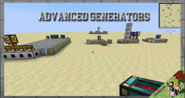 Advanced Generators Mod 1.12.2/1.10.2/1.7.10 For Minecraft