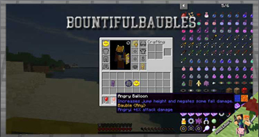 BountifulBaubles Mod 1.16.5/1.15.2/1.12.2 For Minecraft