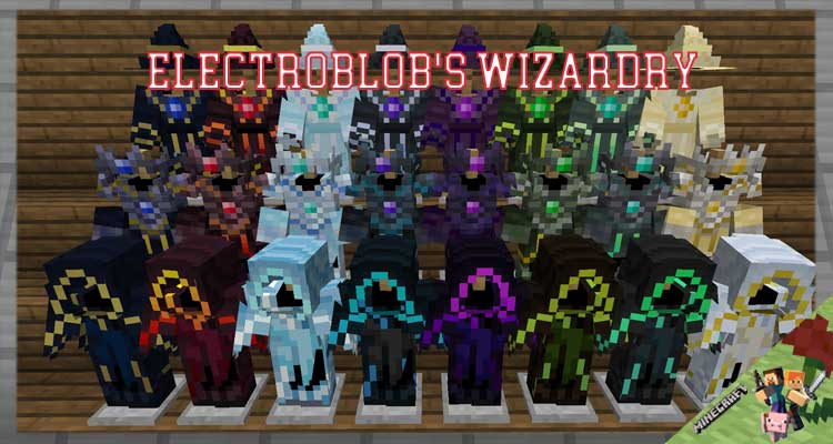 Electroblob's Wizardry Mod 1.12.2/1.10.2/1.7.10 For Minecraft