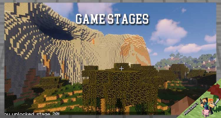 Game Stages Mod 1.16.5/1.15.2/1.12.2 For Minecraft
