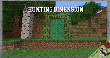 Hunting Dimension Mod 1.12.2 For Minecraft