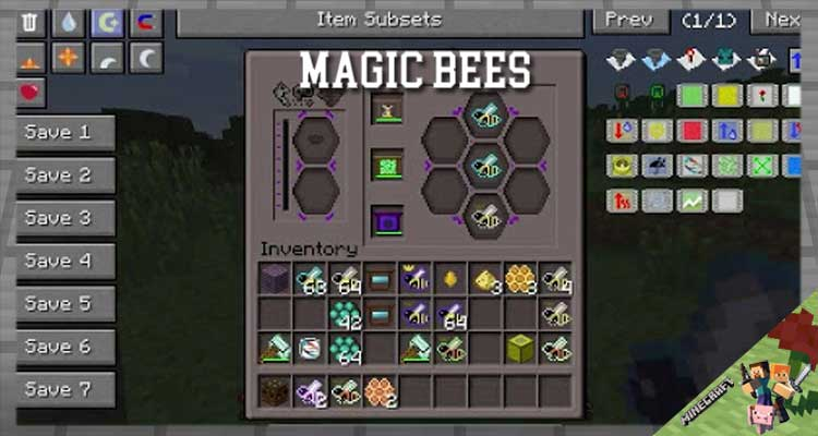 Magic Bees Mod 1.12.2/1.10.2/1.7.10 For Minecraft