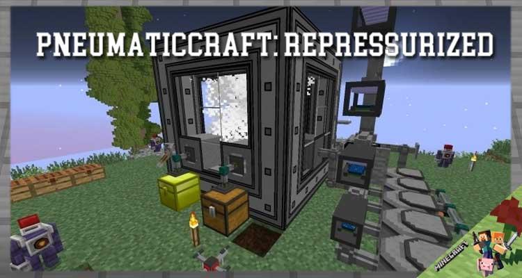PneumaticCraft: Repressurized Mod 1.16.5/1.15.2/1.12.2 For Minecraft