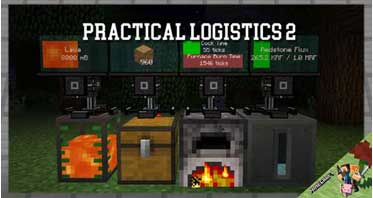 Practical Logistics 2 Mod 1.12.2/1.10.2/1.9.4 For Minecraft