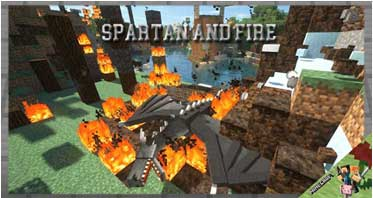 Spartan and Fire Mod 1.12.2 For Minecraft