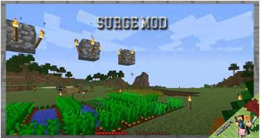 Surge Mod 1.12.2/1.10.2 For Minecraft