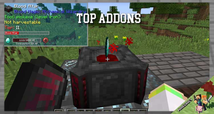 TOP Addons Mod 1.12.2/1.11.2/1.10.2 For Minecraft