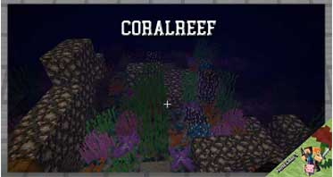 CoralReef Mod 1.12.2/1.11.2/1.10.2 For Minecraft