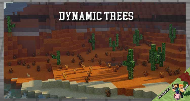 Dynamic Trees Mod 1.12.2/1.10.2/1.7.10 For Minecraft