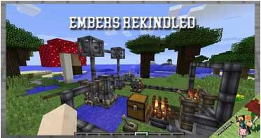 Embers Rekindled Mod 1.12.2 For Minecraft