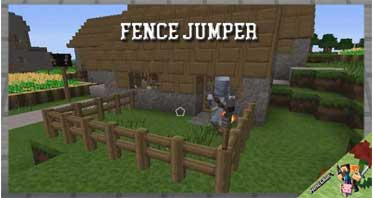 Fence Jumper Mod 1.14.4/1.12.2/1.10.2 For Minecraft