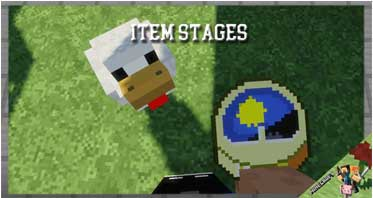 Item Stages Mod 1.12.2 For Minecraft