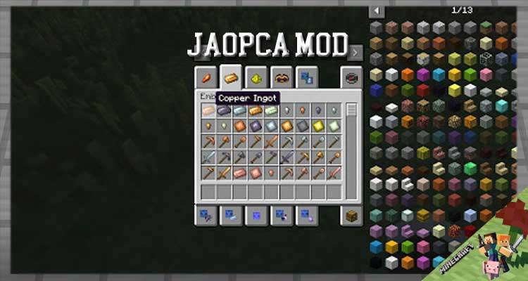 JAOPCA Mod 1.16.5/1.12.2/1.10.2 For Minecraft