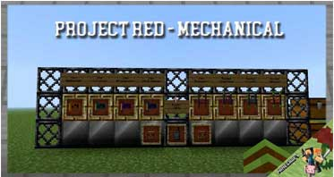 Project Red – Mechanical Mod 1.12.2/1.10.2/1.7.10 For Minecraft
