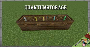 QuantumStorage Mod 1.16.4/1.12.2/1.10.2/1.7.10 For Minecraft