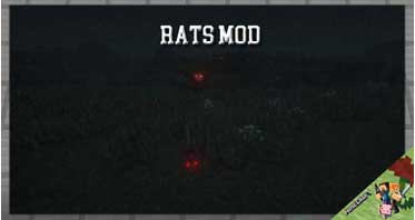 Rats Mod 1.16.5/1.15.2/1.12.2 For Minecraft