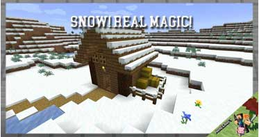 Snow! Real Magic! Mod 1.16.5/1.15.2/1.12.2 For Minecraft