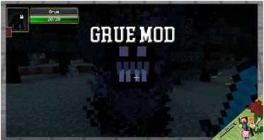 Grue Mod 1.12.2/1.11.2/1.10.2 For Minecraft