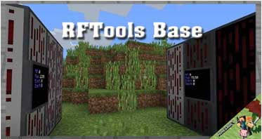 RFTools Base Mod 1.16.5/1.15.2/1.14.4 For Minecraft