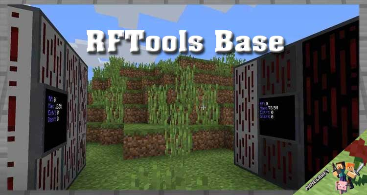 RFTools Base Mod 1.16.5/1.15.2/1.14.4 For Android