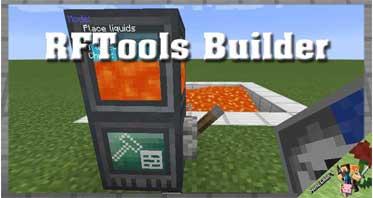 RFTools Builder Mod 1.16.5/1.15.2/1.14.4 For Minecraft