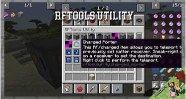 RFTools Utility Mod 1.16.5/1.15.2/1.14.4 For Minecraft