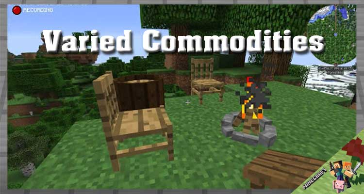 Varied Commodities Mod 1.12.2/1.11.2 For Minecraft