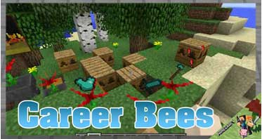 Career Bees Mod 1.12.2 For Minecraft