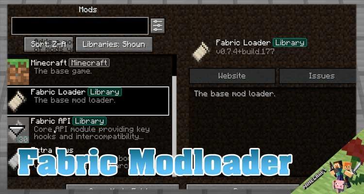 Fabric Modloader Mod 1.17.1/1.16.5/1.14.4 For Minecraft